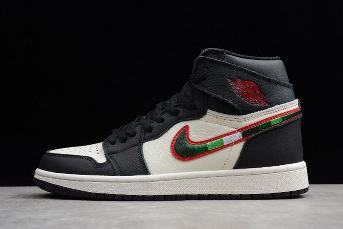 "2018 Air Jordan 1 High OG ""A Star Is Born"" Black White Team Red Shoes"