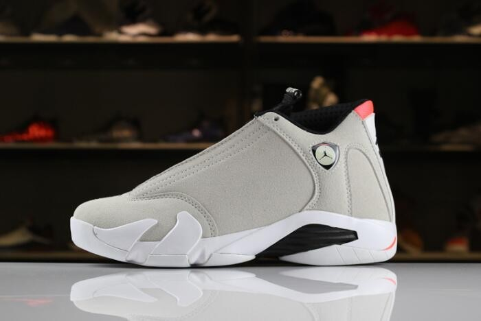 Air Jordan 14 (XIV) Retro Desert Sand Black White Infrared 23 Shoes