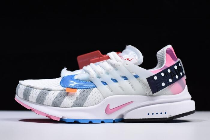 2018 Parra x Nike Air Presto 2.0 x Off White White Multi Color AA3830 140 Shoes