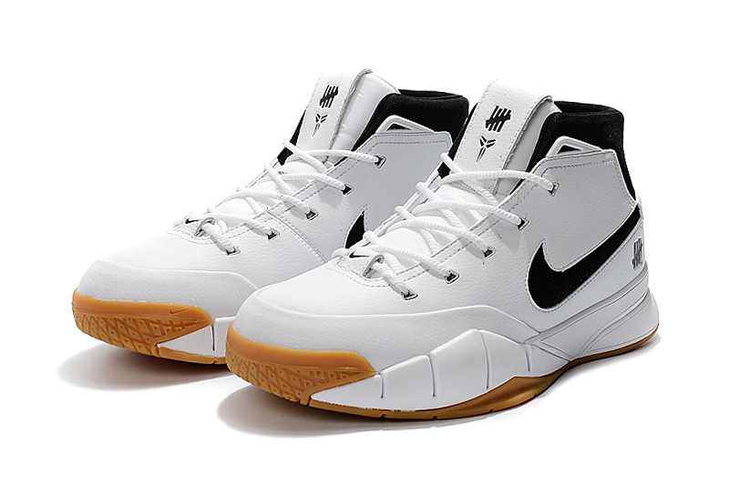 nike zoom kobe 1 protro white gum shoes