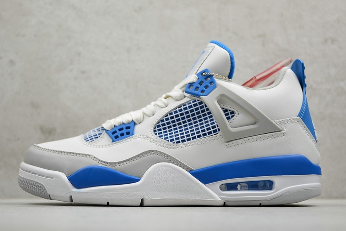 "2019 Air Jordan 4 (IV) Retro ""Military Blue"" 308497 105 Shoes"