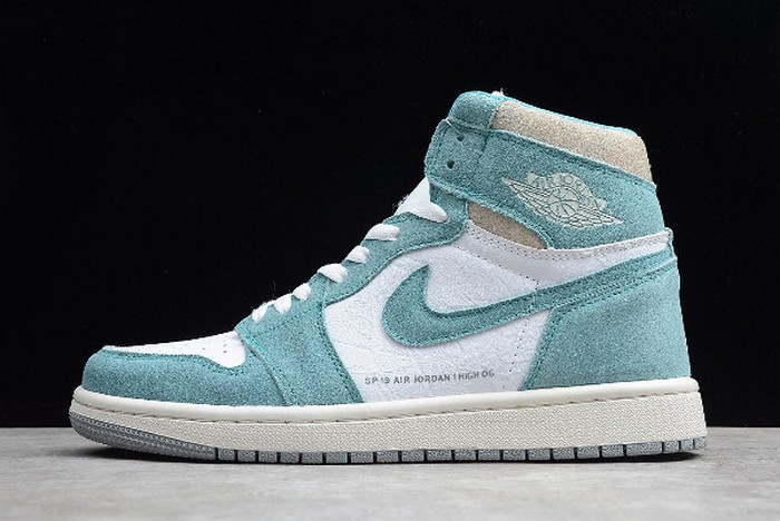 "2019 Mens Air Jordan 1 (I) Retro High OG ""Turbo Green"" 555088 311 Shoes"