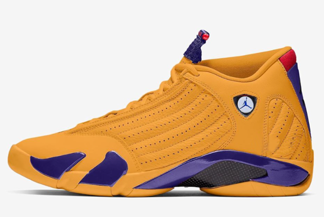 air jordan 14 retro university gold