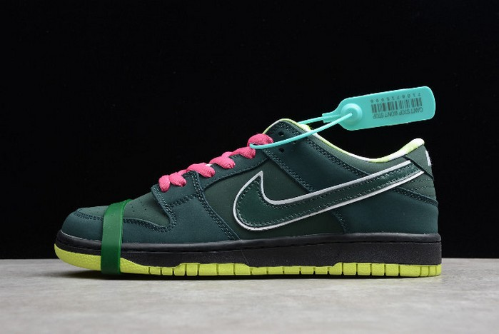 "2018 Concepts x Nike SB Dunk Low ""Green Lobster"" BV1310 337 Shoes"
