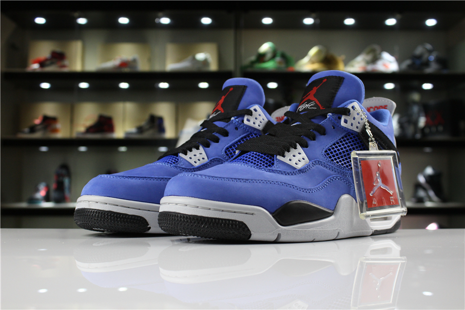 Eminem x Air Jordan 4 Encore Blue Black Grey Red