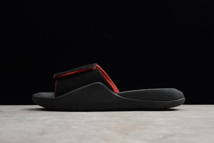Jordan Hydro 7 Retro Slide Black Infrared 23 Mens Basketball Shoes