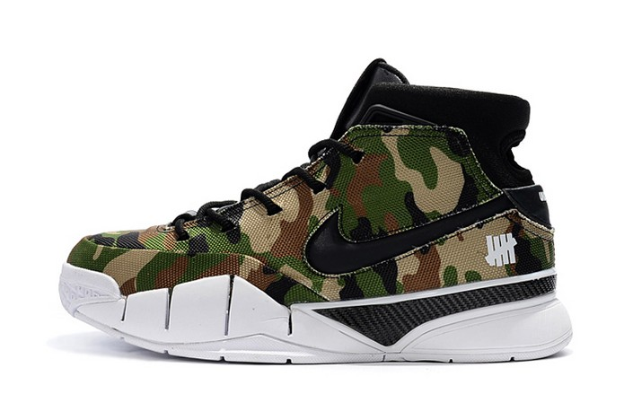 "Undefeated x Nike Zoom Kobe 1 Protro ""Camo"" Mens Basketball Shoes"
