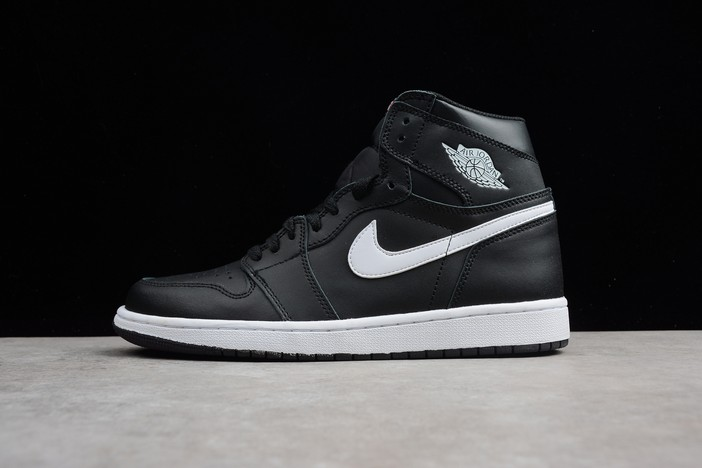 "Air Jordan 1 Retro High OG ""Yin Yang"" Black White Black Shoes"