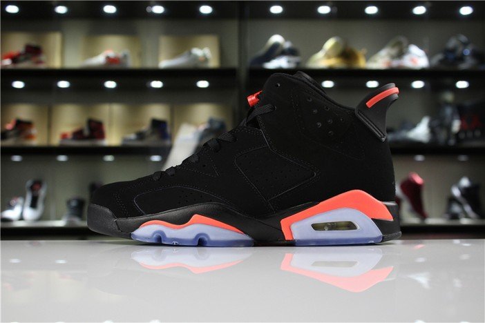"Air Jordan 6 (VI) Retro Retro ""Black Infrared 23"" Shoes"