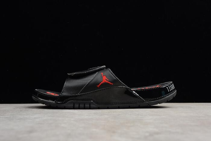 Air Jordan Hydro 11 Retro Slide Black Red