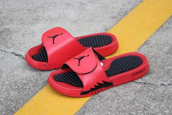 Air Jordan Hydro 5 Retro University Red Black