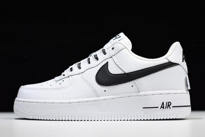 2018 Nike Air Force 1 LV8 White Black 820438 108 Running Shoes