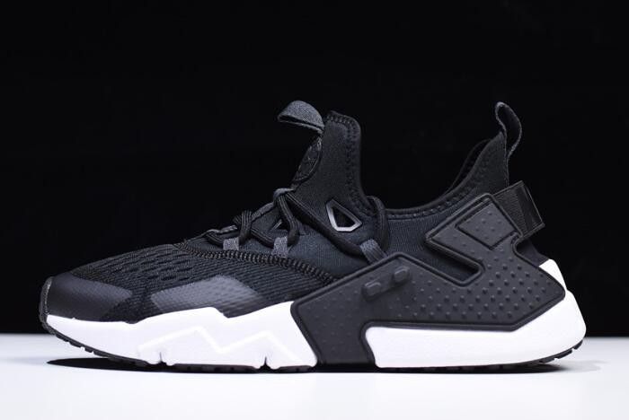Nike Air Huarache Drift Breathe Black Anthracite White AO1133 002 Shoes