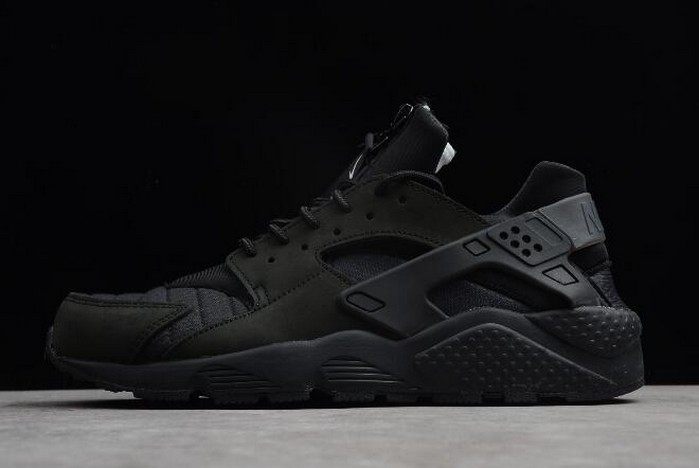 "Nike Air Huarache Run City ""NYC"" Black White AJ5578 001 Running Shoes"