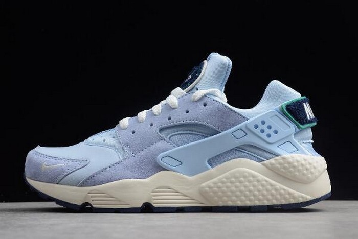 Nike Air Huarache Run Premium Royal Tint Sail Blue Void Neptune Green 704830 403 Shoes