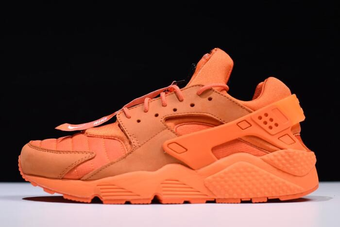 Nike Air Huarache Run QS Chicago Orange Blaze Midnight White Shoes