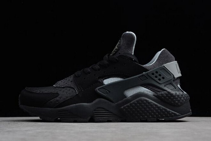 Nike Air Huarache Run SE Black Wolf Grey 852628 001 Running Shoes