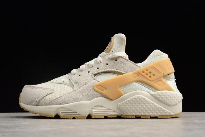 Nike Air Huarache Run SE Phantom Gum Yellow Light Bone 852628 004 Shoes