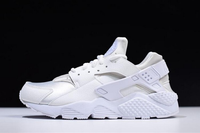 Nike Air Huarache Run Triple White 634835 108 Running Shoes