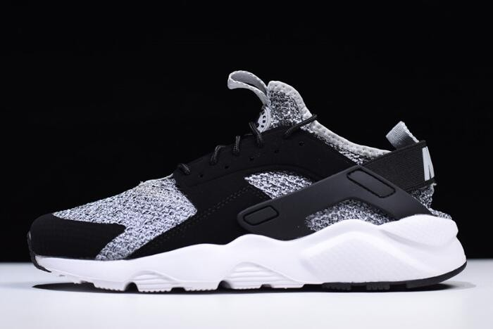 Nike Air Huarache Run Ultra Black Grey White AH6758 002 Shoes