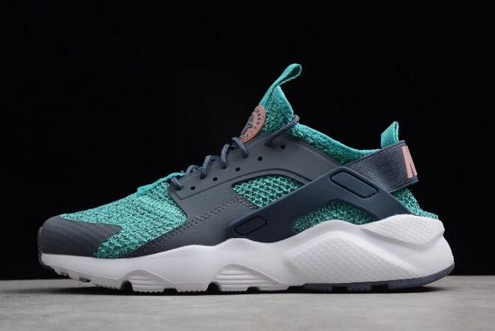 Nike Air Huarache Run Ultra Jade Blue Grey White AH6758 300 Shoes