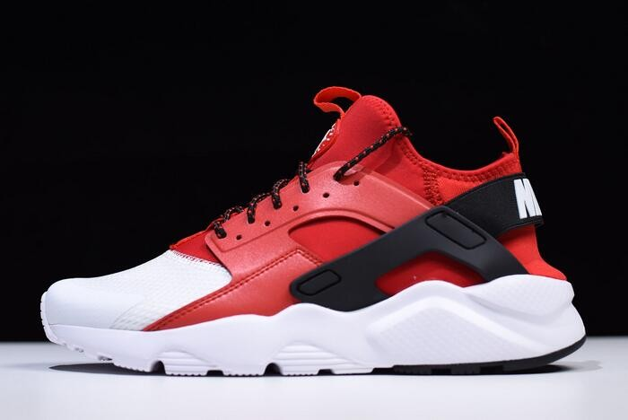 Nike Air Huarache Run Ultra White Red Black 847568 106 Running Shoes