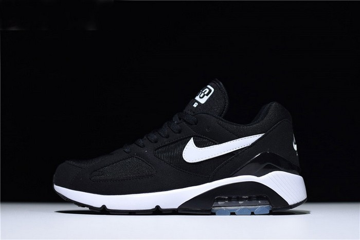 Nike Air Max 180 Black White Trainers Running Shoes