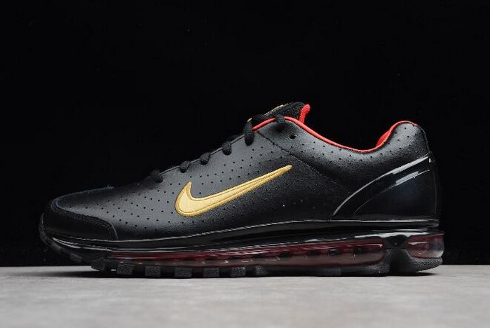 Nike Air Max 2003 SS Black Red Metallic Gold 311038 071 Shoes