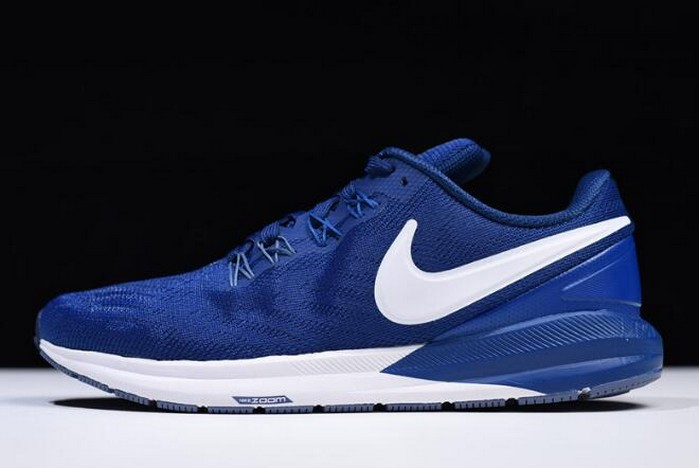 Nike Air Zoom Structure 22 Gym Blue White AA1638 404 Shoes