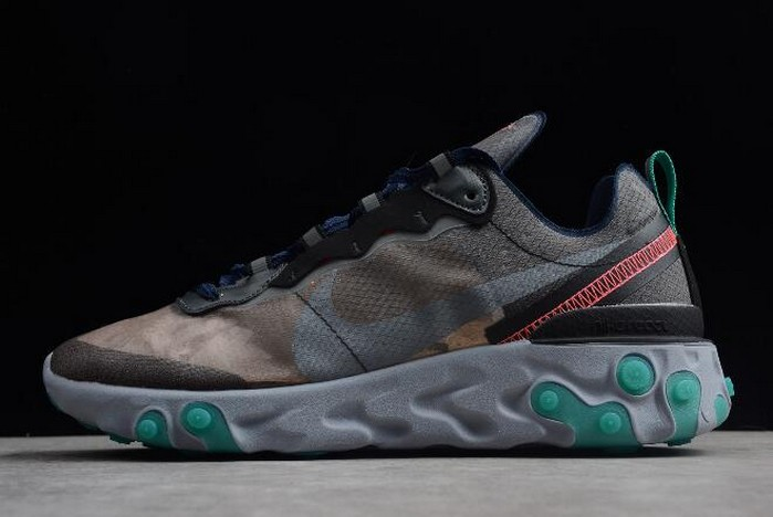 Nike Epic React Element 87 Neptune Green AQ1090 005 Shoes
