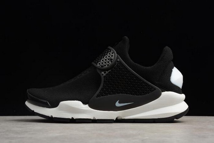 Nike Sock Dart KJCRD Black White Shoes