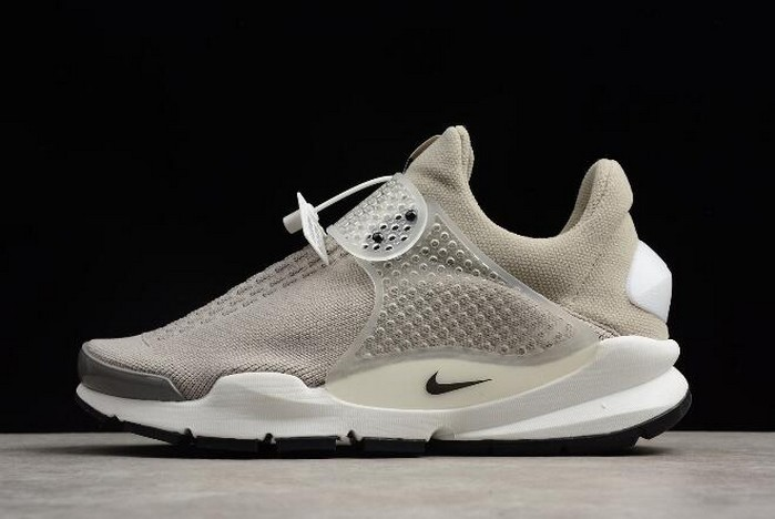 Nike Sock Dart KJCRD Medium Grey Black White Shoes