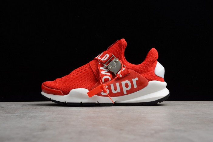 Nike Sock Dart x Supreme White Red Shoes