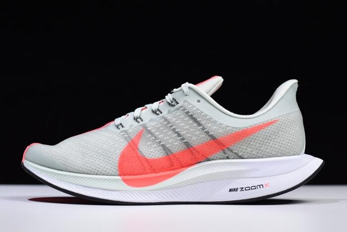 Nike Zoom Pegasus 35 Turbo Barely Grey Hot Punch Black Shoes