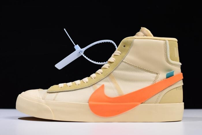 "OFF WHITE x Blazer Studio Mid ""All Hallows Eve"" Shoes"