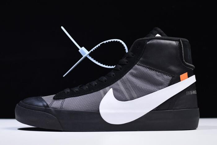 "Off White x Nike Blazer Mid ""Grim Reepers"" Shoes"