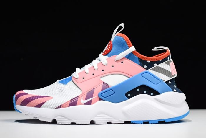 2018 Piet Parra x Nike Air Huarache Run Ultra F&F White Multi Color 847568 101 Shoes