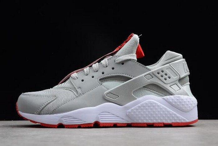 Shoe Palace x Nike Air Huarache Run Zip QS 25th Anniversary Silver White Red AR9862 002 Shoes