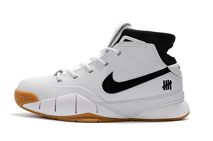 "Undefeated x Nike Zoom Kobe 1 Protro ""White Gum"" Mens Basketball Shoes"