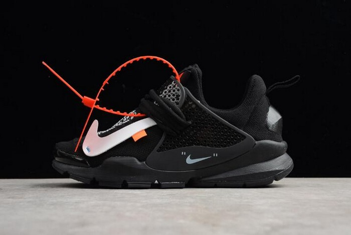 Virgil Abloh Off White x Nike Sock Dart In Black Shoes