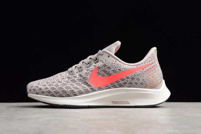 WMNS Nike Air Zoom Pegasus 35 Particle Rose Flash Crimson Running Shoes