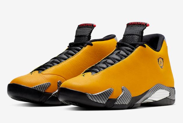 air jordan 14 yellow ferrari for sale