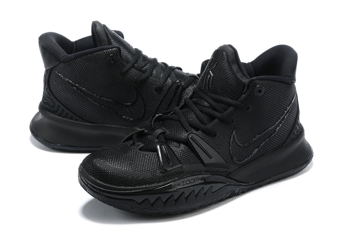 nike kyrie 7 triple black sneakers