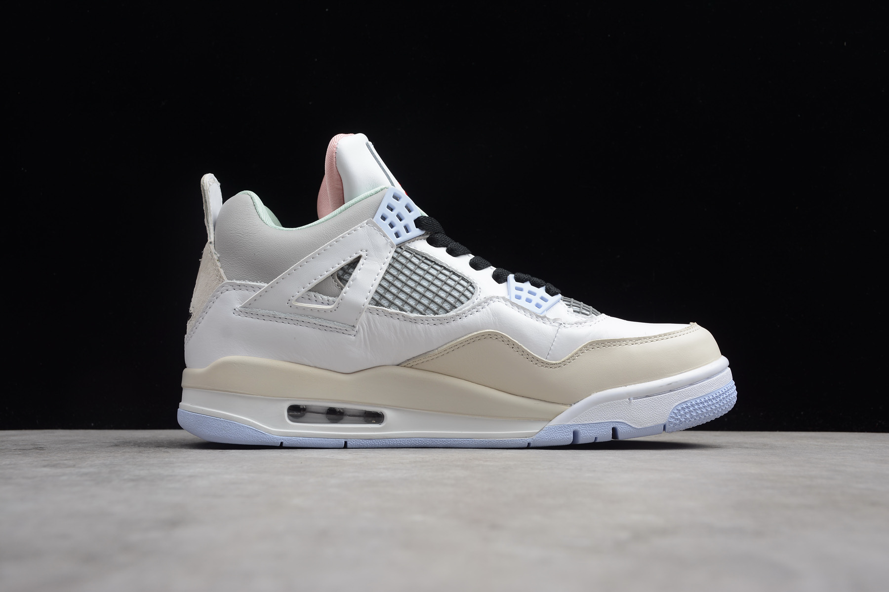 air jordan 4 encore han yubai light beige grey
