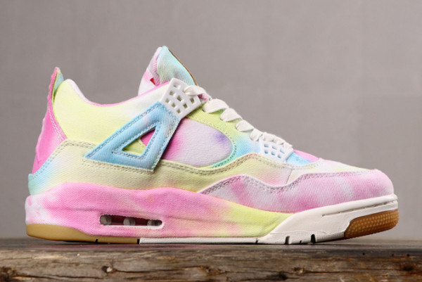 air jordan 4 nrg tie dye canvas multi color
