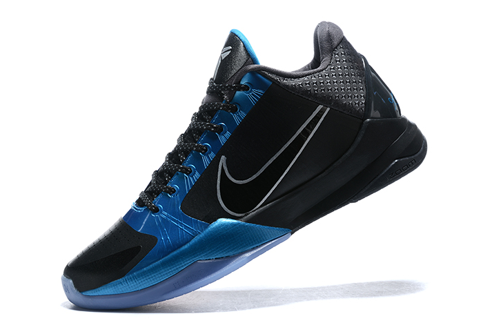 nike kobe 5 protro the dark knight black blue red
