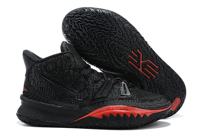nike kyrie 7 black red sneaker